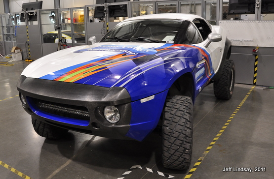 A sweet car: the Rally Fighter by Local Motors