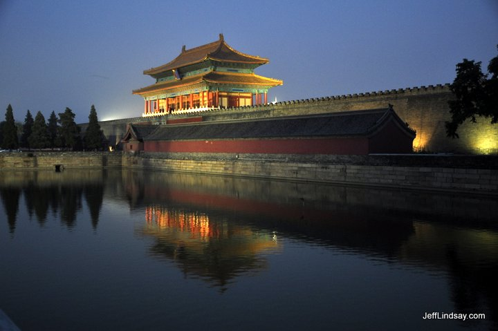 The Moat Around the Forbidden City, Beijing